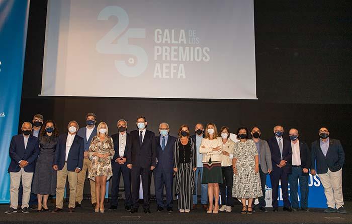 XXV Gala Premios AEFA, Asociación de la Empresa Familiar de Alicante